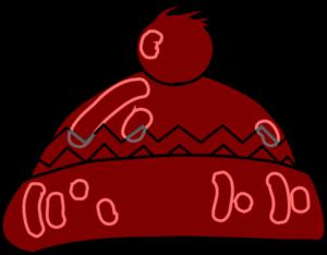 Winter Hat Clip Art - Wooly Hat Clipart
