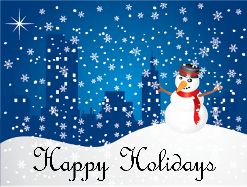 Winter Holiday Animated Clip Art Christmas Happy Holidays Clipart Clipart Kid Free