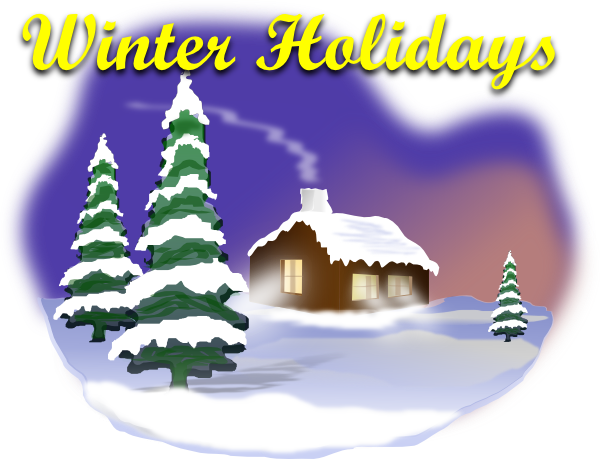 Winter Holiday Animated Clip Art Clip Ar-winter holiday animated clip art clip art winter scenes and winter holidays on pinterest free-11
