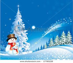 Winter Holiday Clip Art | Two .