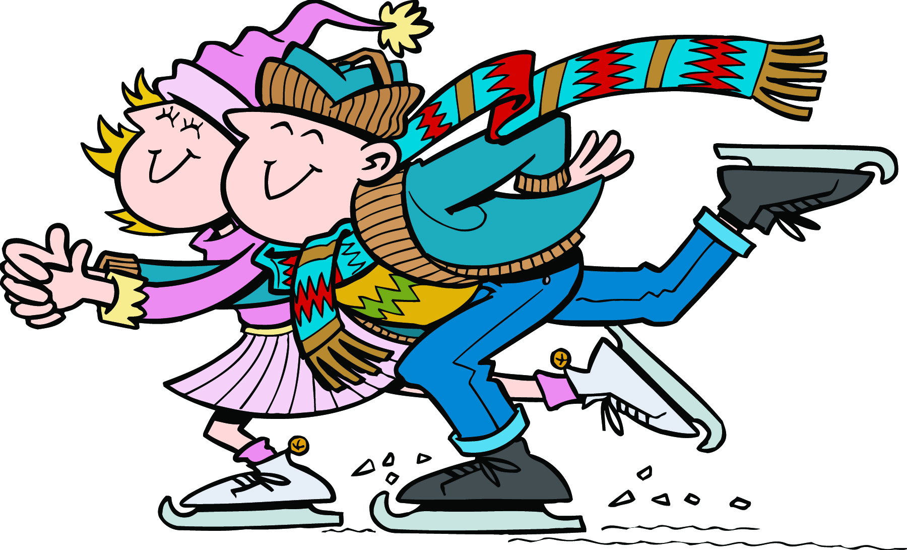 Winter Ice Skating Clipart ... HERE IN H-Winter Ice Skating Clipart ... HERE IN HYDE IT .-18