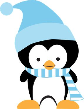 WINTER PENGUIN CLIP ART | Clip Art | Pinterest | Clip art, Cute penguins and Penguins