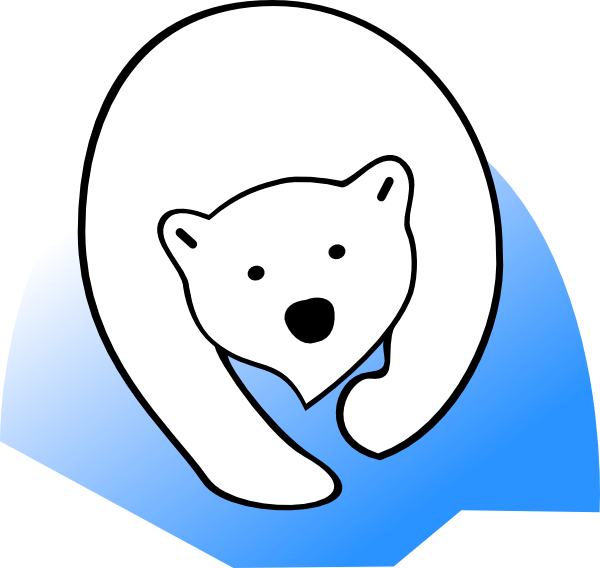Winter Polar Bear Clip Art | Clipart library - Free Clipart Images