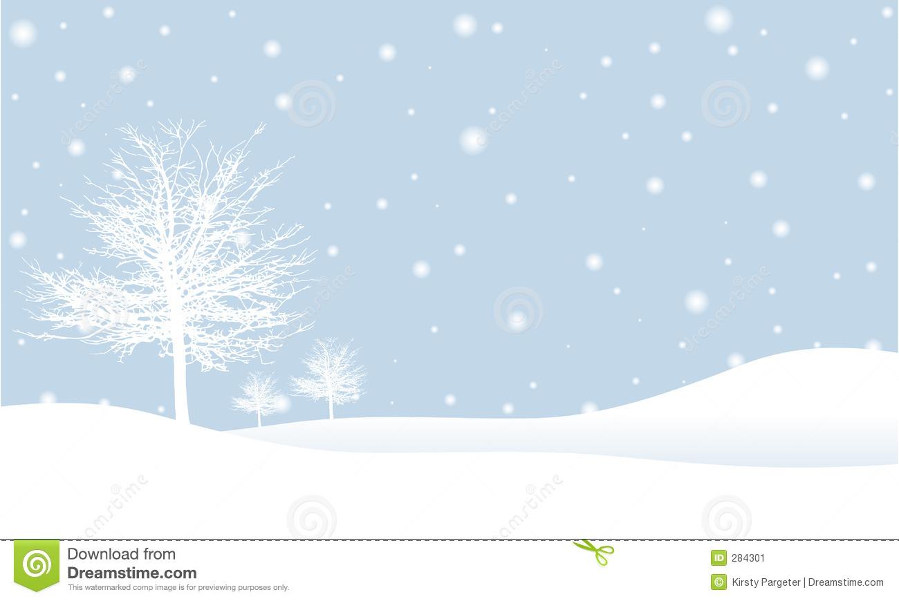 Winter Scene Clip Art