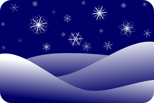 Winter Scenery Clip Art At Clker Com Vector Clip Art Online Royalty