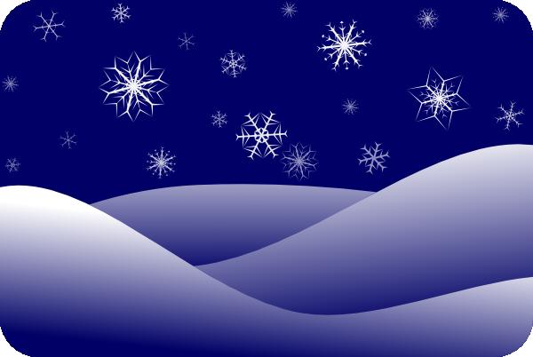 Winter Scenery Clip Art At Clker Com Vector Clip Art Online Royalty