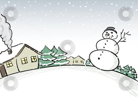 Winter Scenes Clipart Free .