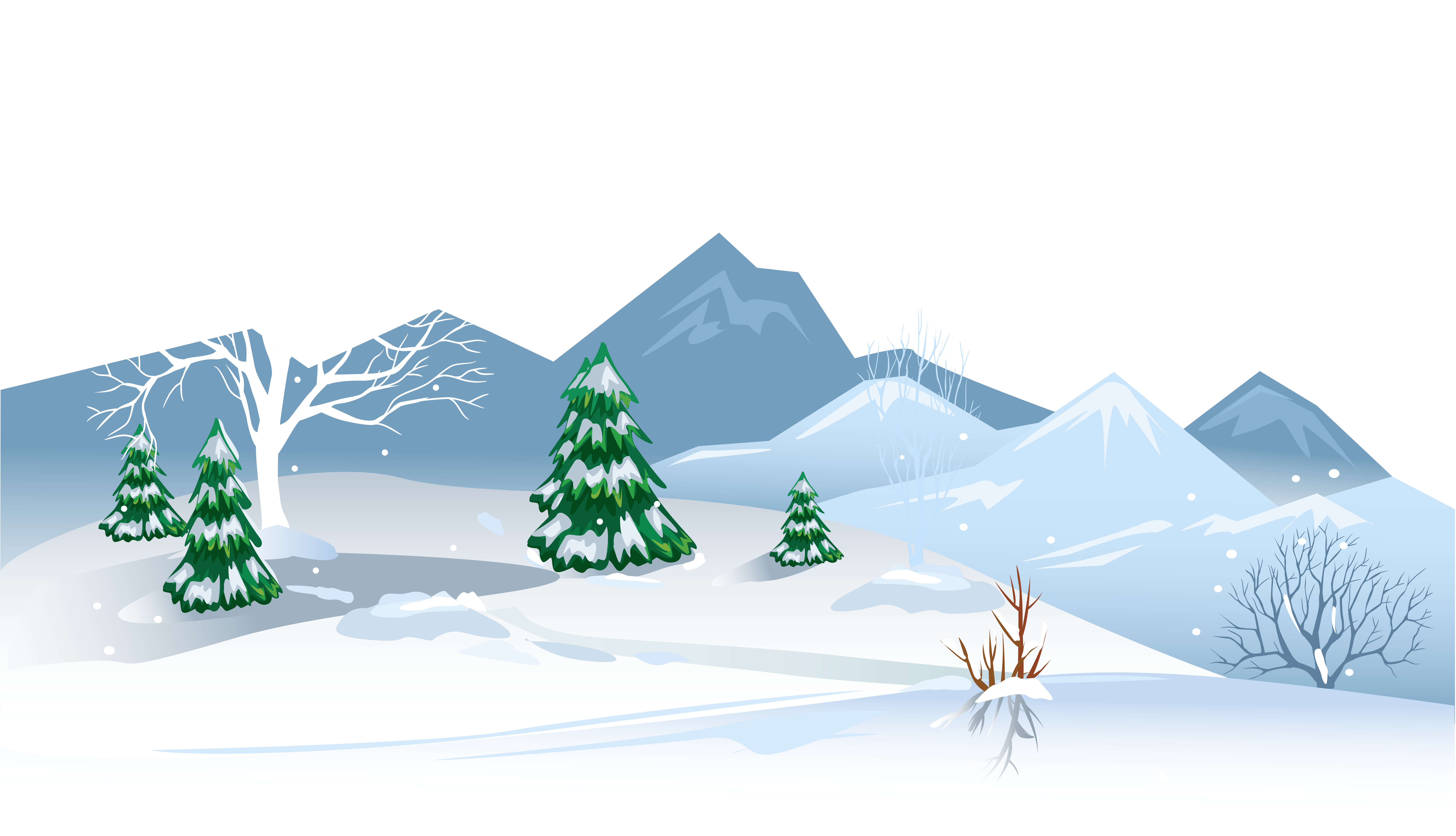 Winter Snow Background Clip Art-Winter Snow Background Clip Art-19