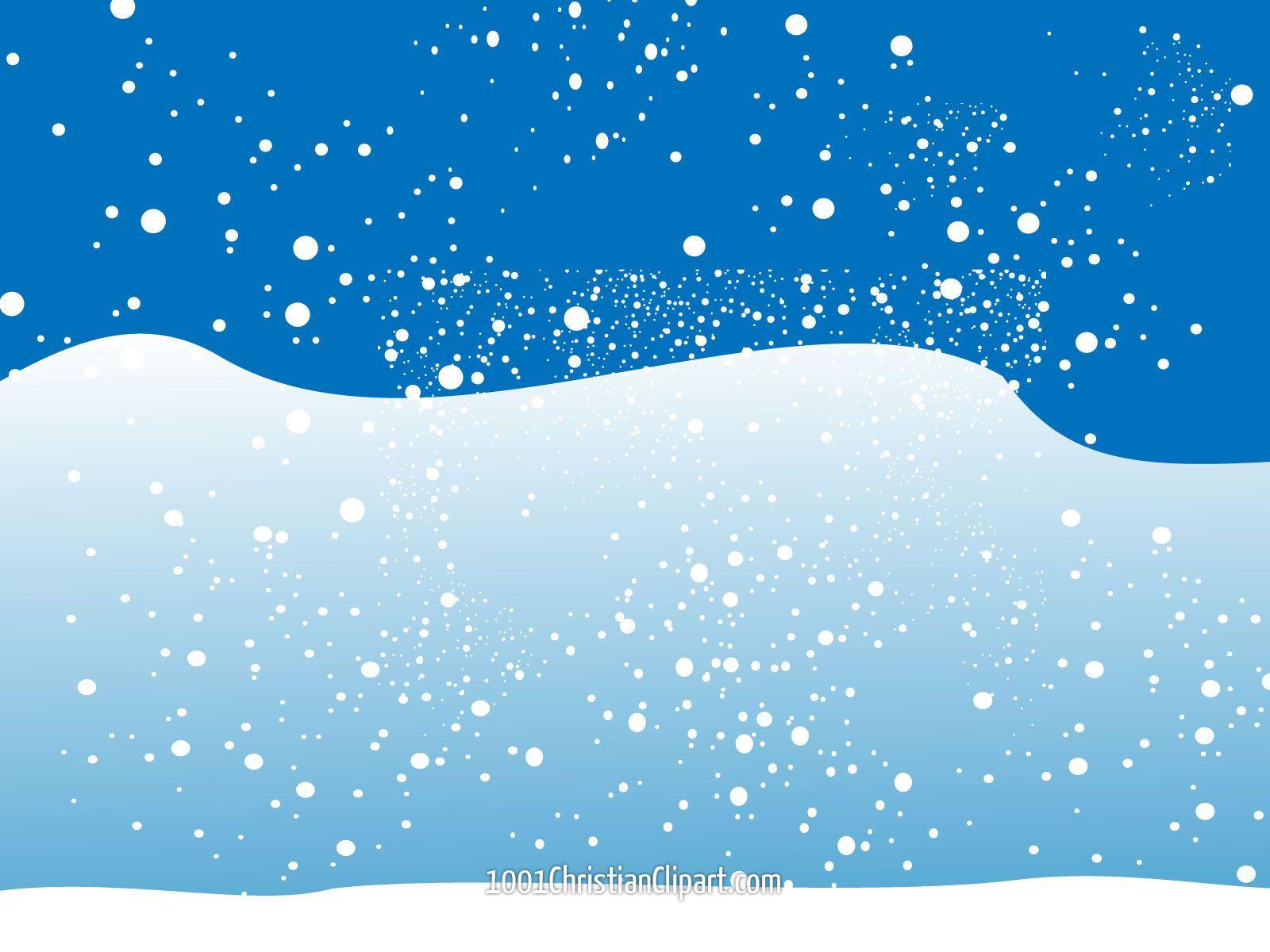 Christmas Winter Snow Scene Clip Art | Christmas Snow Free Clipart Free Clip  Art Images