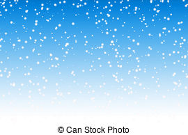 . ClipartLook.com Falling snow over night blue winter sky background