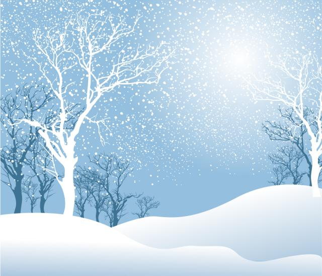 Winter snow clipart
