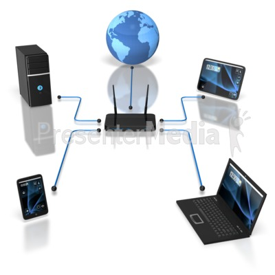 Wireless Device Network Science And Tech-Wireless Device Network Science And Technology Great Clipart For-10