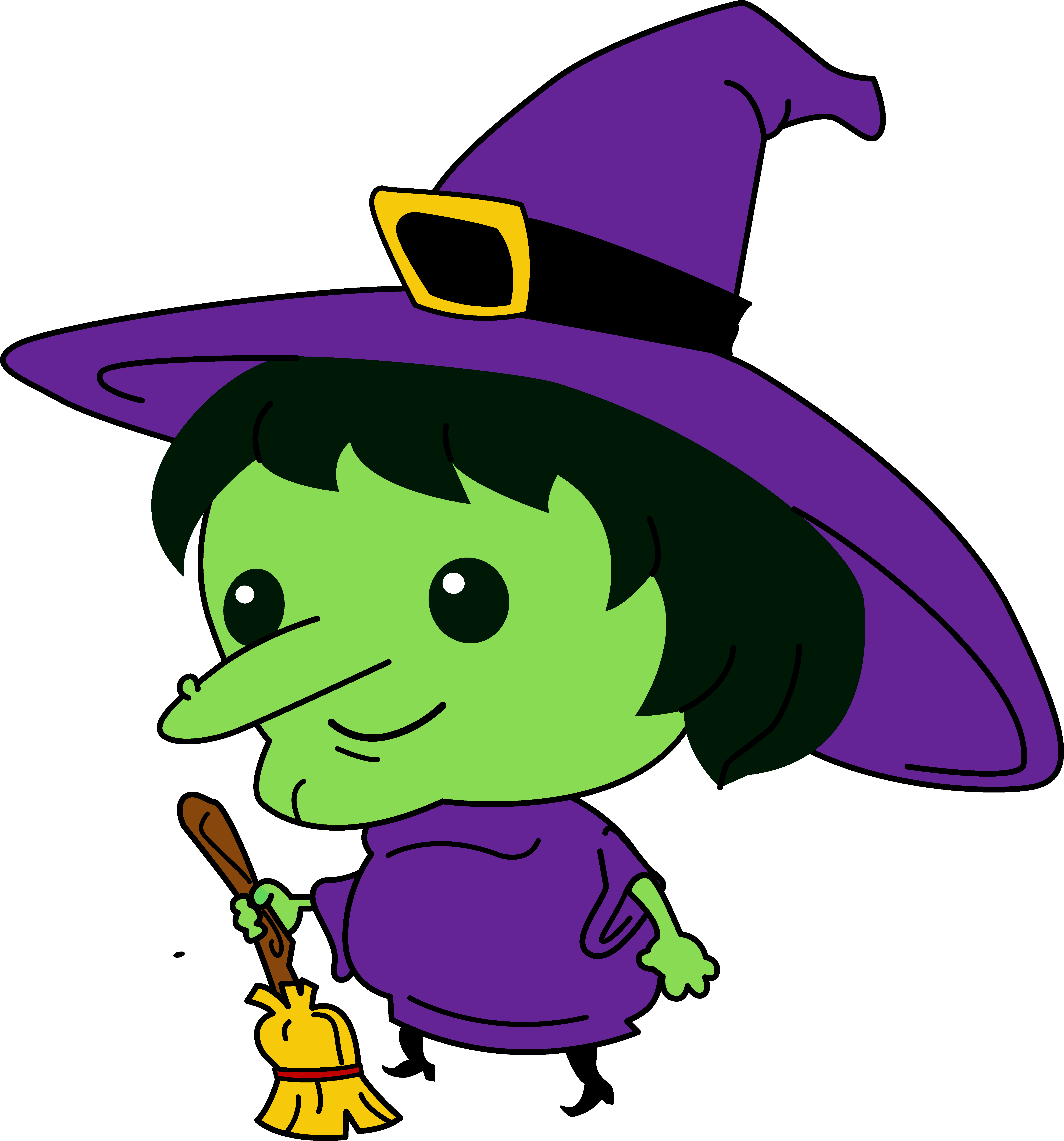 halloween witch clipart u0026 look at halloween witch clip art images