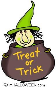 Witch Cauldron -- Spooky Clip Art © imHALLOWEEN clipartall.com