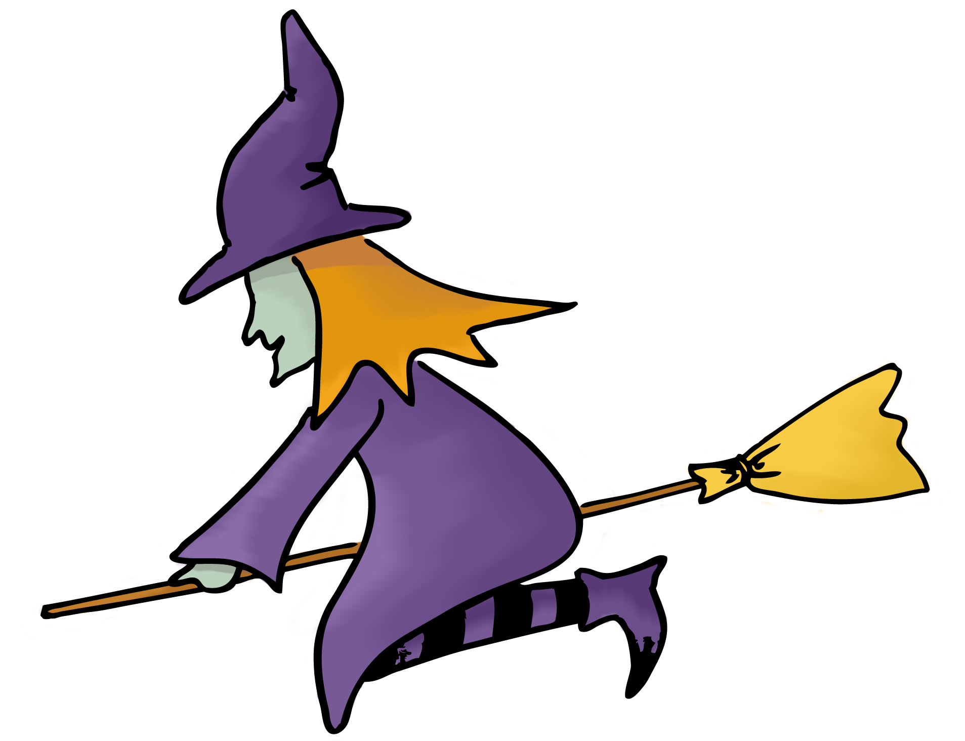 Witch Clip Art-Witch Clip Art-6