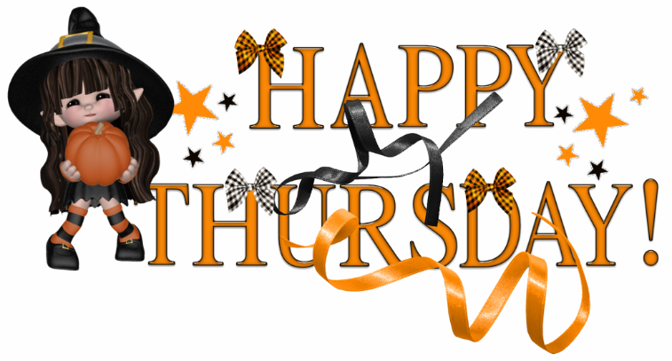 Witch Happy Thursday Clipart