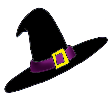 Witch Hat Clipart #1. 19.3Kb 224 x 193 Free witch .