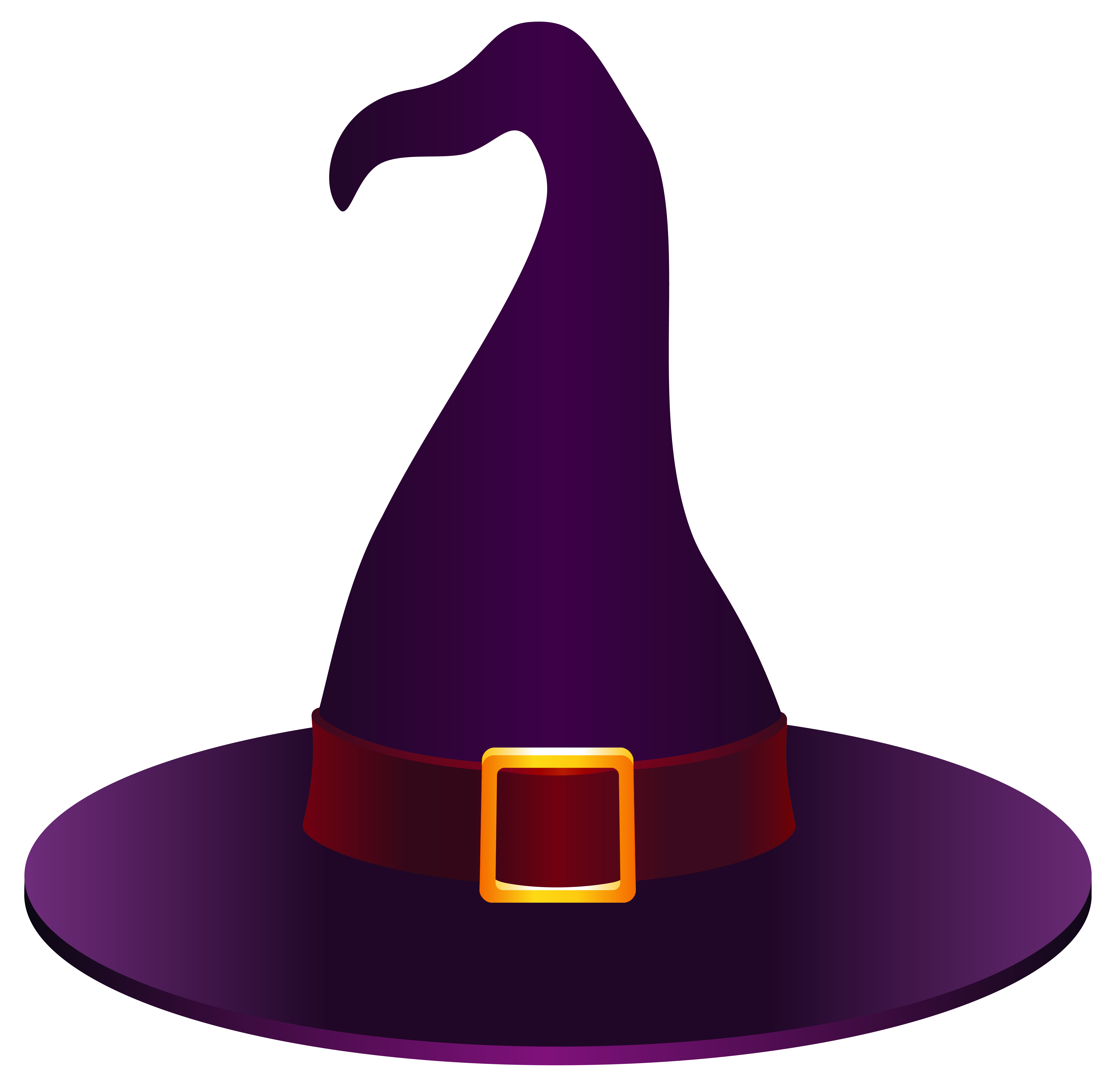Witch hat clipart picture