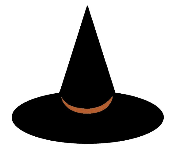 Witch hat silhouette images pictures becuo clipart kid
