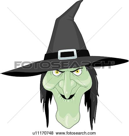 Witch. ValueClips Clip Art
