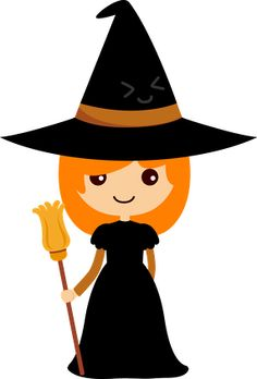Witches clip art and hallowee - Witch Clip Art