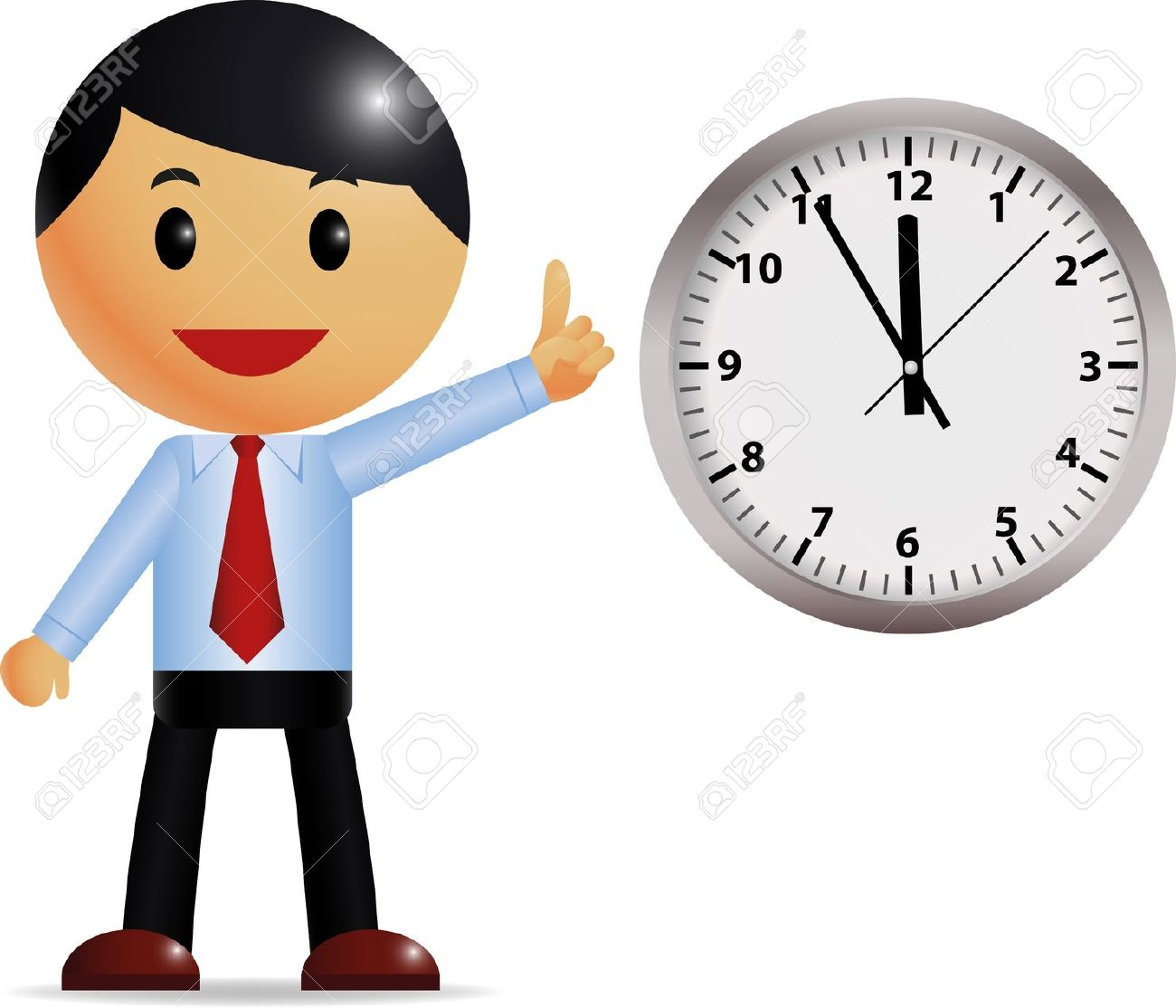 with time management Stock .-with time management Stock .-9