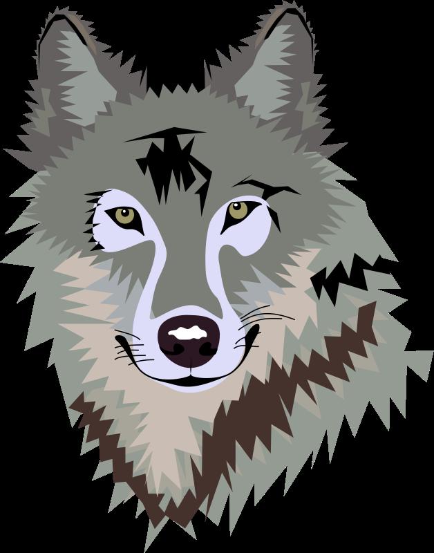 Wolf Clip Art-Wolf Clip Art-12
