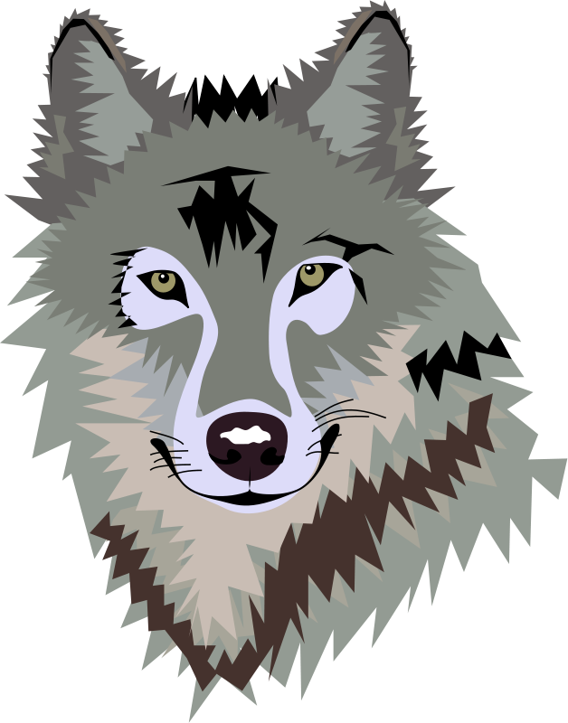 Wolf Clip Art - Wolf Clipart