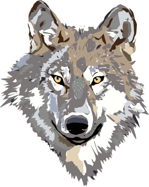 Wolf Clip Art-Wolf clip art-6