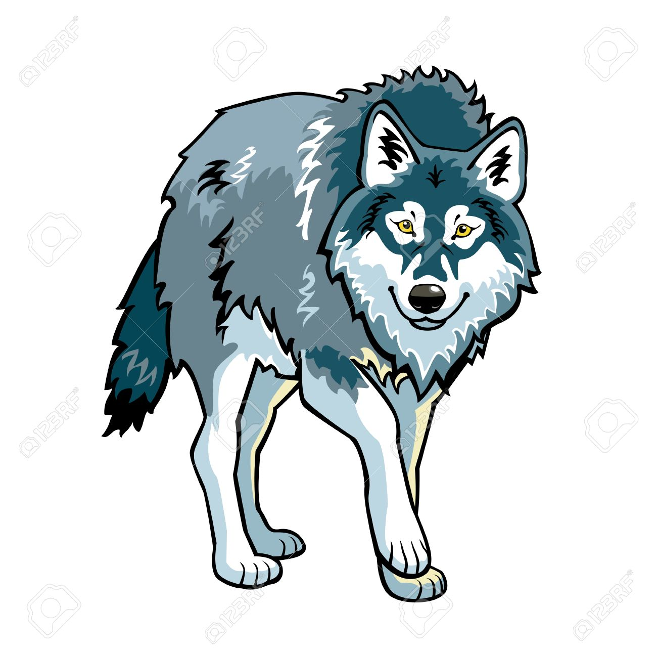 Wolf Clipart - Clipartion Clipartall.com-Wolf Clipart - Clipartion clipartall.com-9
