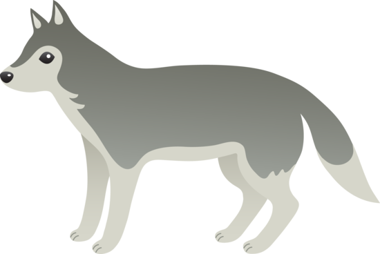 Wolf clipart free clipart .
