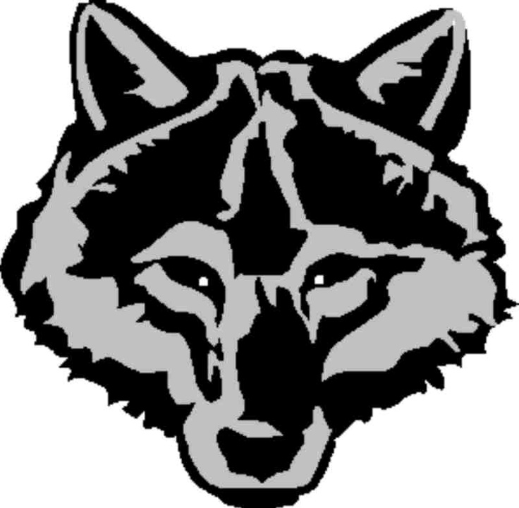 Wolf head graphic | Scouting | Clipart library