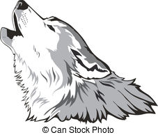 ... Wolf head vector - Wolf head as a simbol, vector.