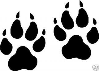 ... Wolf Paw Print Clip Art - clipartall ...
