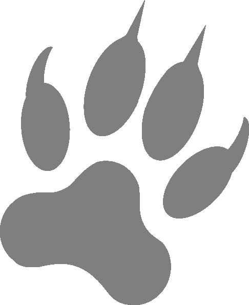 Wolf Print Clip Art At Clker Com Vector -Wolf Print Clip Art At Clker Com Vector Clip Art Online Royalty-18