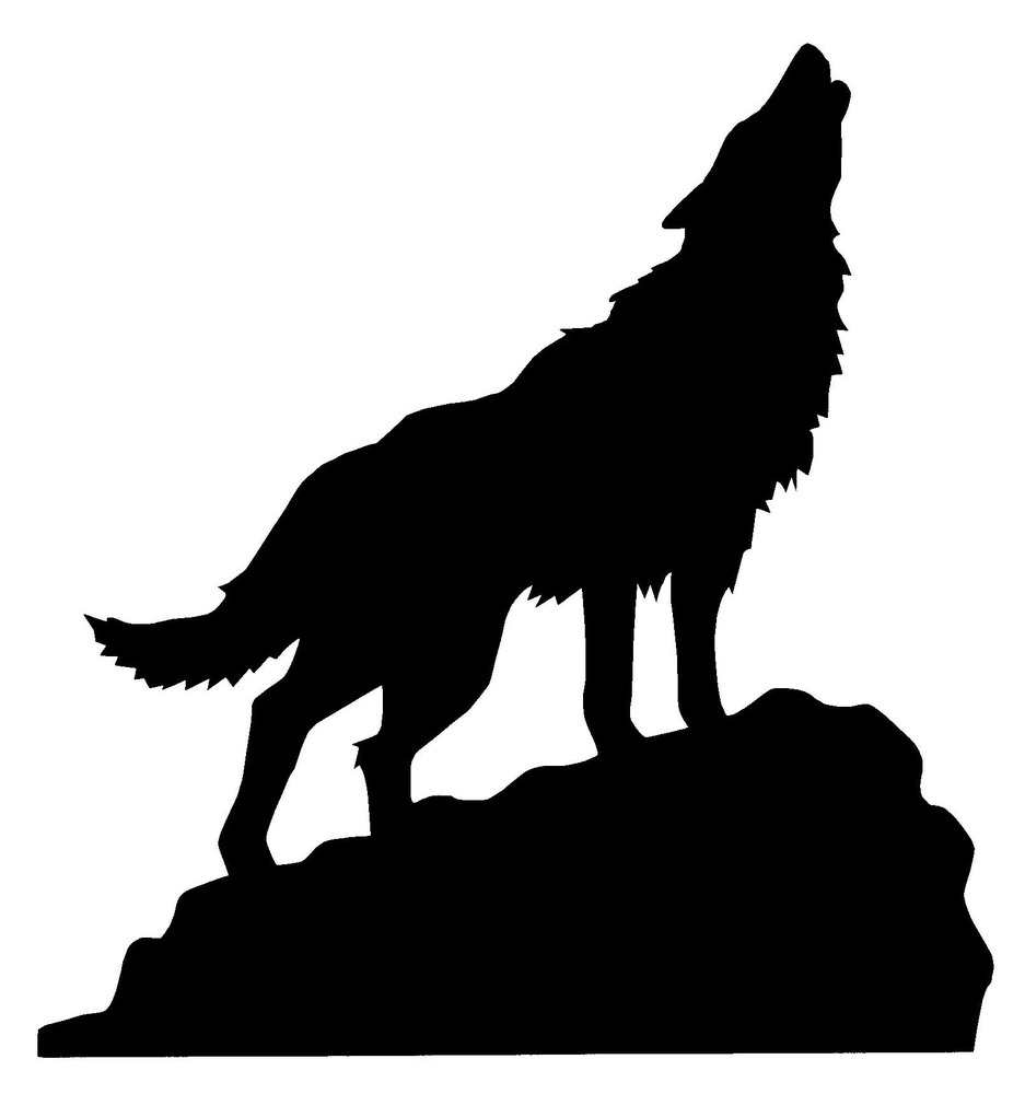 Wolf Silhouette Howling Free Cliparts That You Can Download To You