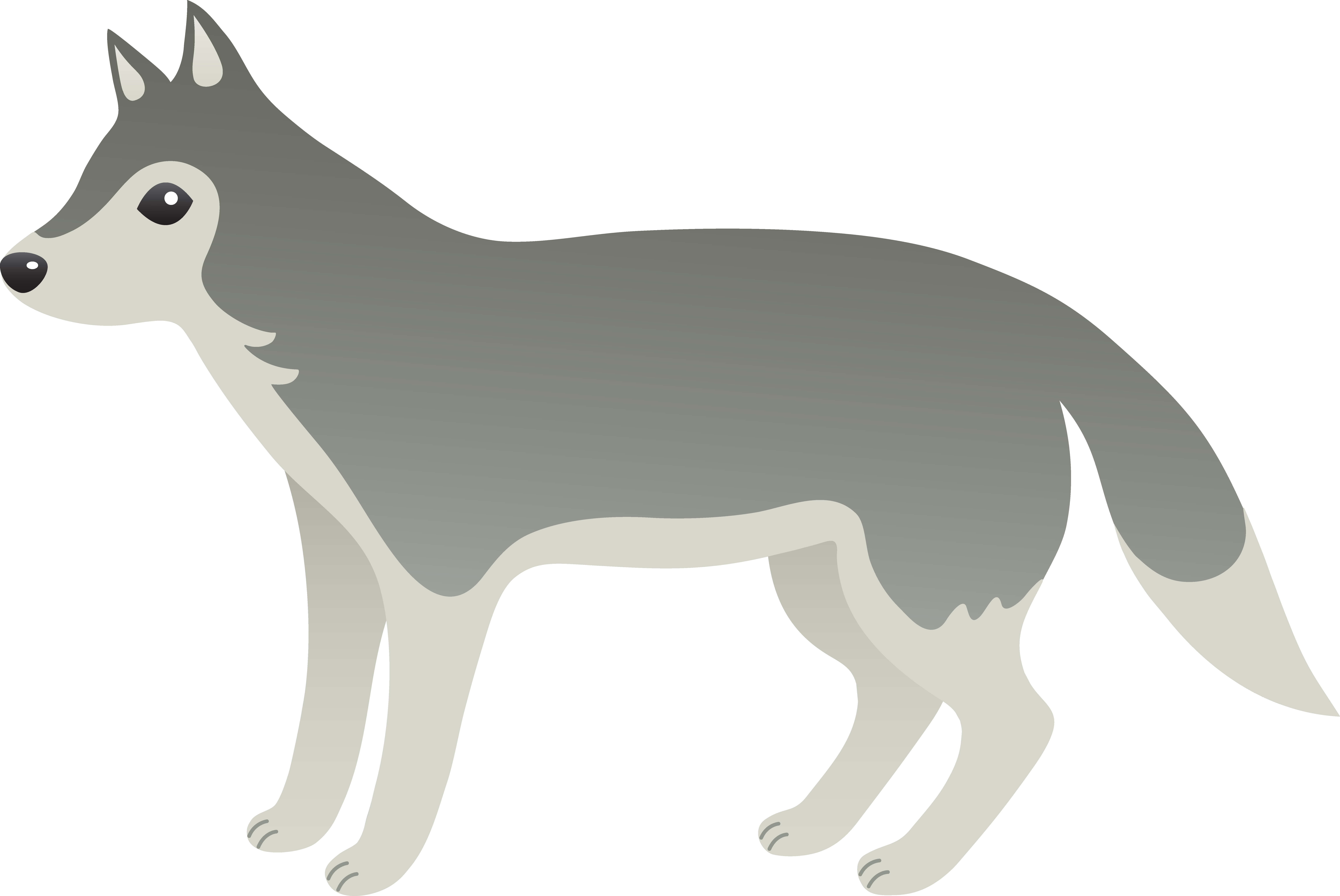 Wolves Cartoon Wolf Clipart Free Downloa-Wolves cartoon wolf clipart free download clip art on-11