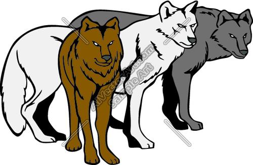 Wolves Clip Art. 04250d004f3cea73838a918-Wolves clip art. 04250d004f3cea73838a918d3e796f .-12
