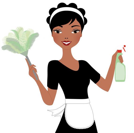 Woman cleaning clipart-Woman cleaning clipart-6