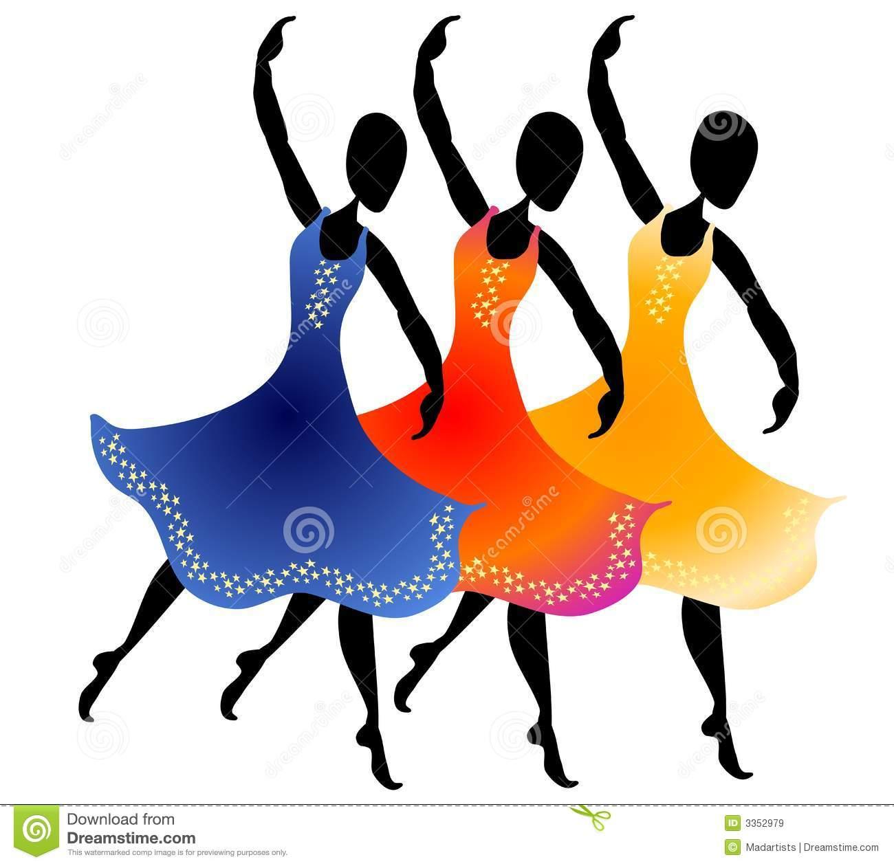 Woman Dancing Clipart-Woman Dancing Clipart-18