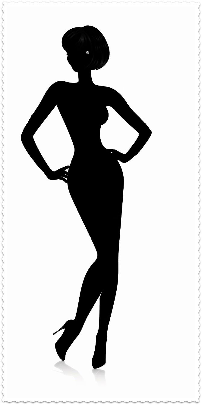 Woman Silhouette Clipart