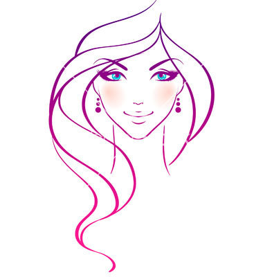 Women Beauty Hair Vector 306311 By Bersonne Royalty Free Vector Art
