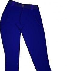 Women Clothing Blue Jeans Clip Art, Thum-Women Clothing Blue Jeans clip art, thumb-16