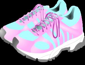 Women S Gym Shoes Clip Art At Clker Com Vector Clip Art Online