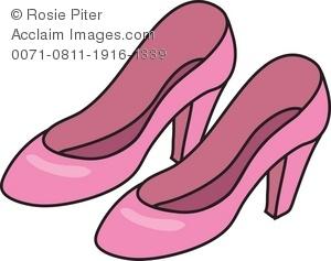 Women Shoes Clipart