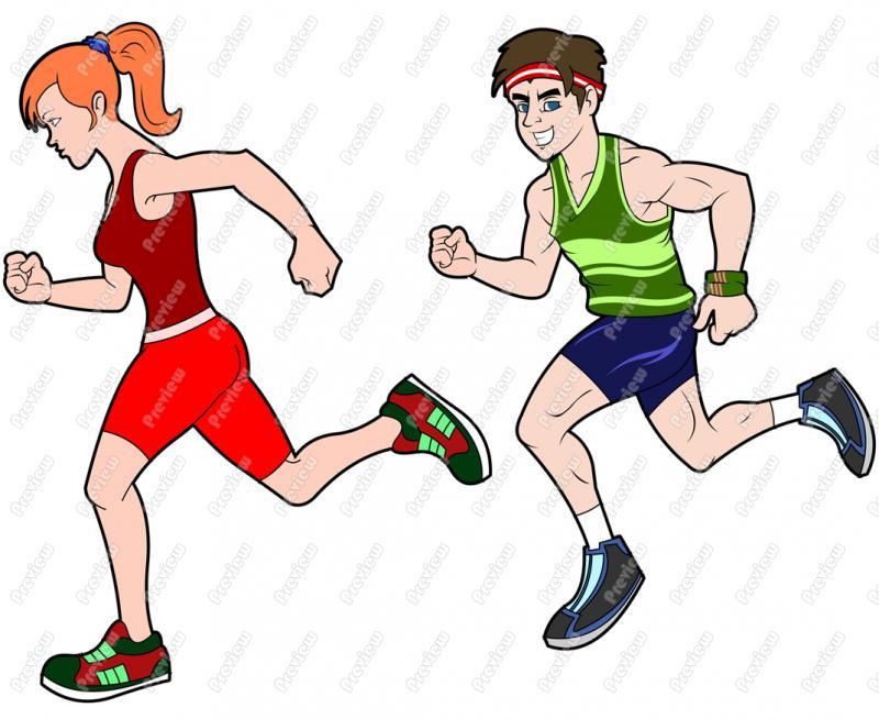 Women Track Runners Clipart Cliparthut F-Women Track Runners Clipart Cliparthut Free Clipart-8