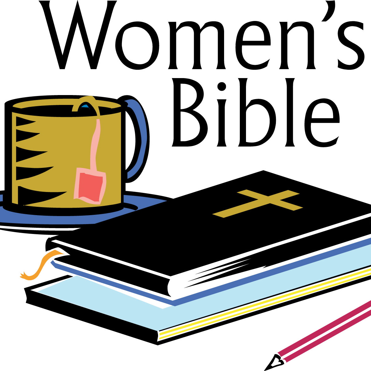 Womens Bible Study Clipart #1