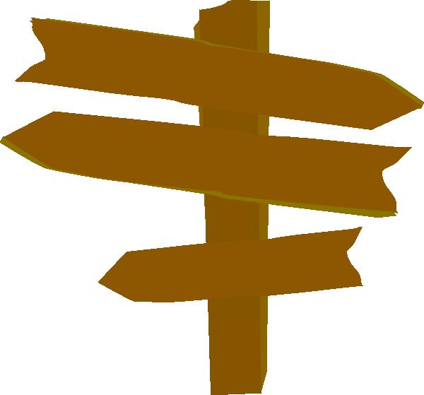 Wood Directional Sign Clip Art At Clker -Wood Directional Sign Clip Art At Clker Com Vector Clip Art Online-13