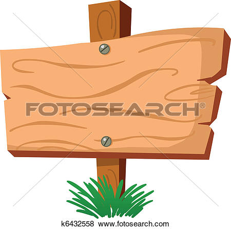 Wood sign - Wooden Sign Clipart