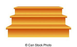 ... Wood Stairs - Wood steps (3) isolate-... Wood Stairs - Wood steps (3) isolated on white background.-12